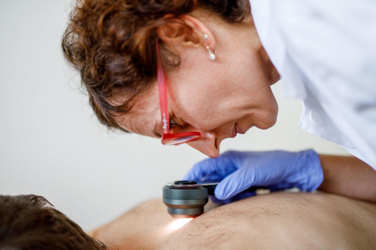 Vyšetření kůže