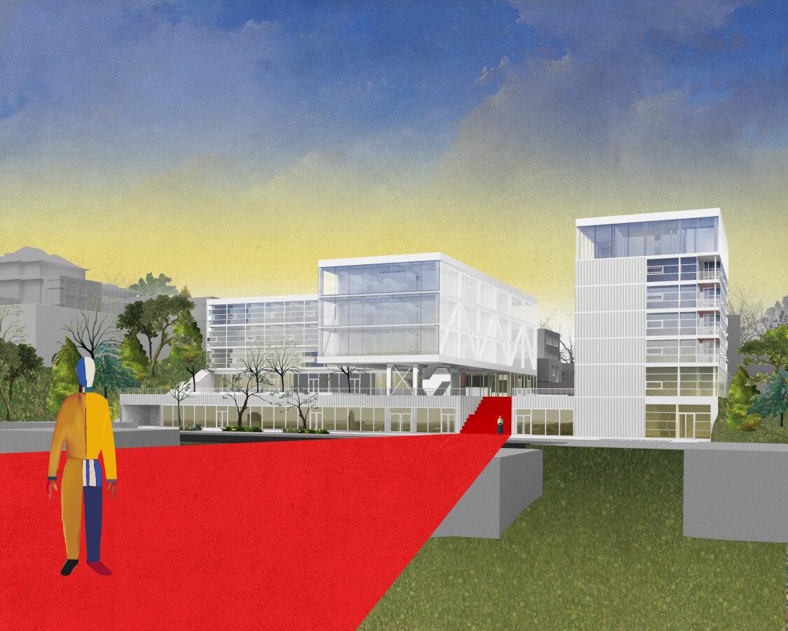 Centrum onkologické prevence MOÚ očima studentů Fakulty architektury VUT